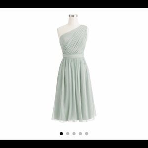 "J Crew bridesmaid dress- ""dusty shale Kylie"""